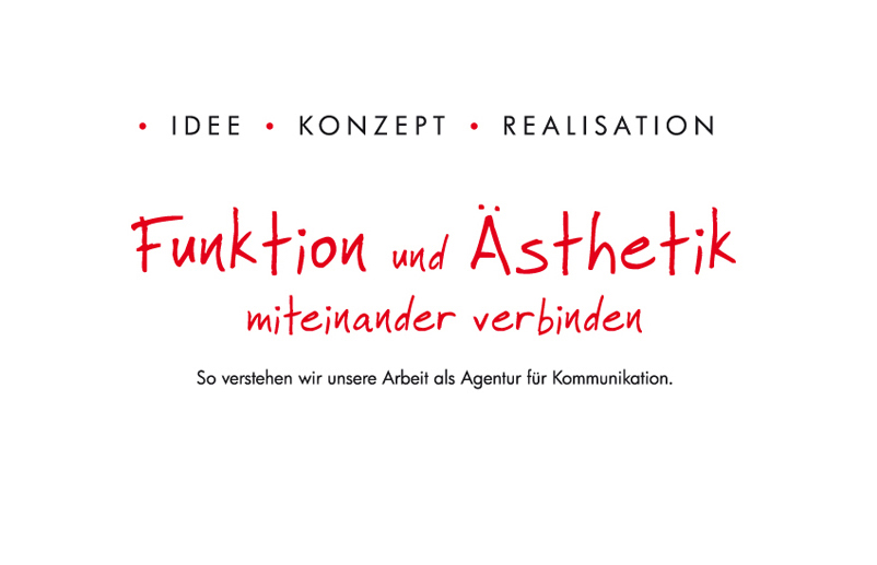 1 Unsere Intention